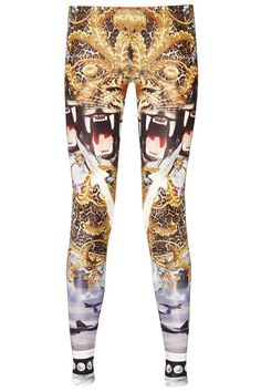 Amazing leggings with PHILIPP PLEIN prints of the season. Don´t miss this must have piece! Wear it with a long t-shirt or a light blouse and complete the look with boots or high heels, depending on the occasion. Shop this seasons collection of Philipp Plein womenswear. Philipp Plein is pure luxury with his latest Menswear Collection embodying the designers rebel streak, and glamorous ideals making the Philipp Plein brand instantly recognisable.    FW14-CW510245