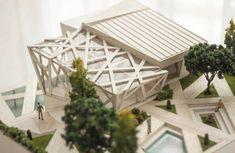 Arquitectura, modelo, maqueta, ambientación, estructura, forma, volumen