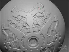 (▶) zBrush Session of Alpha and Layer Tools