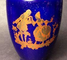 Estate Find - Vintage? Japanese Limoges Style Miniature Vase Vintage Ceramic, Vintage Japanese, My Ebay, Wine Glass, Porcelain, Miniatures, Pottery, Vase, Ceramics