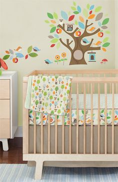 Skip Hop Bumper-Free Crib Bedding Set