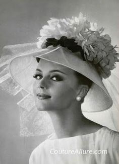 3abe2ba674a 1960s--the last great decade of hats Easter Vintage