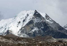 Island Peak (6189 M) In Bad Weather - Nepal, Himalayas