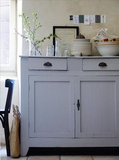 Color gris para restaurar mueble