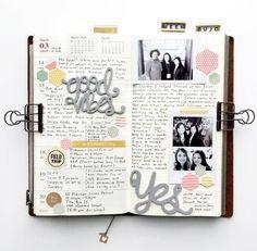 14 ideas para rellenar tus libretas #bulletjournal #libretas #cuadernos