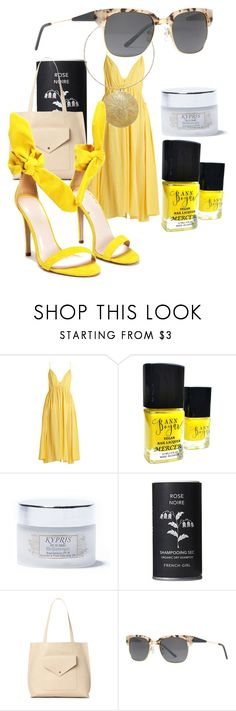 """""""Yellow summer dress"""" by sustainableoutfits ❤ liked on Polyvore featuring Loup Charmant, Kypris, French Girl, Urban Expressions, Nasty Gal, contest, contestentry, polyvoreeditorial and polyvorefashion"""