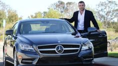 Liev Schrieber Is All About Style in His Mercedes CLS 550