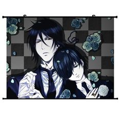 "Home Decor Japanese Anime Wall Scroll Anime Poster Black Butler(32""*24"") by Anime Fans, http://www.amazon.com/dp/B008C5FSSO/ref=cm_sw_r_pi_dp_wzhOqb0M4HYEG"