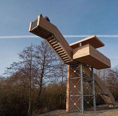 Aussichtsturm im Teufelsmoor bei Neuenfelde