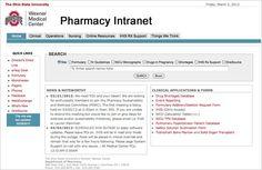 Ohio State #uglyintranet Nursing Online, Direct Line, Medical Center, Pharmacy, State University, Being Ugly, Clinic, Ohio, Columbus Ohio
