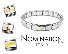 Nomination Christmas Charms Nomination Charms, Nomination Bracelet, Count, Enamel, Charmed, Italy, Gemstones, Jewellery, Stylish