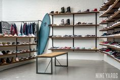 bd6ba31ea64cfc Custom interior and furniture for Vans Store Brussels. The guys at Vans  asked us to