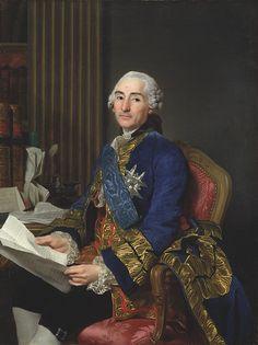 Count of Choiseul, Duke of Praslin by Alexander Roslin, 1762. Nationalmuseum Sweden, CC BY-SA