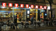 Cafetería HD #best Burger in town #vintage Guzmán el Bueno 67