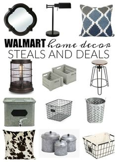 MUST SEE LIST! Affordable steals and deals from none other than WALMART!!! - www.littlehouseof...