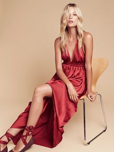 LoveShackFancy Braided Maxi Dress at Free People Clothing Boutique