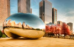 »The Bean | Millennium Park, Chicago« by Joerg Piechotka