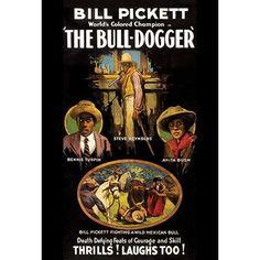 Buyenlarge 'The Bull-Dogger' Vintage Advertisement