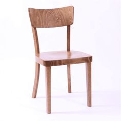 A simple, iconic design, reminiscent of old school chairs but clean and modern in feel. Perfect for casual dining. The beech wood used is harvested responsibly from managed forests in Europe and complies with all EU timber regulations. Side Chairs, Dining Chairs, School Chairs, Restaurant Bar, Wood, Furniture, Design, Home Decor, Dining Chair