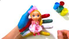 Canções da Família Finger | Pintura Corporal em Cores Barbie | Canções I... Barbie, Ems, Make It Yourself, Children, Fictional Characters, Colors, Body Paint, Young Children, Boys