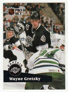 Wayne Gretzky # 574 - 1991-92 NHL Pro Set Hockey