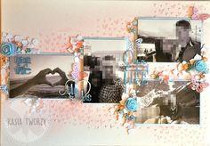 Kasia tworzy: kartki, albumy i inne rękodzieło: ramka
