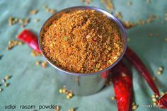 cool Udipi Rasam Powder Recipe Check more at http://www.foodiehalt.com/udipi-rasam-powder-recipe/