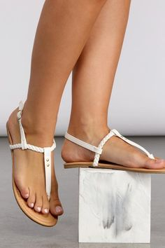 Pretty Sandals, Sexy Sandals, Sandals For Sale, T Strap Sandals, Pretty Toes, Wedge Sandals, Shoes Sandals, Baby Girl Sandals, Girls Sandals