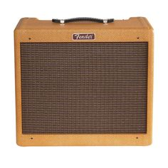 Fender's Blues Jr. LTD gives a vintage sound and feel with its lacquered tweed covering and a vintage voiced Jensen 12 inch speaker. Some features included Fender reverb, flexible controls, FAT switch