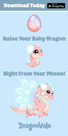 Breed a Baby Dragon Right on Your Phone. Download Dragonvale Today!
