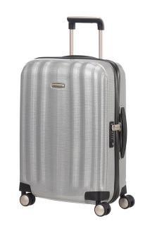 4-Rad Handgepäckskoffer 55 cm Samsonite Lite-Cube Silver - Bags & more Silver Bags, Aluminium, Cube, Traveling, Metallic, Carry On Suitcases, The Last Song, Travel, Outdoor Travel