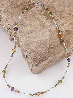 IDEA: November's Jewel Necklace (eebeads.com)
