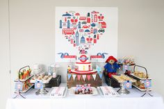 British party theme printables by KerenPrecelEvents on Etsy, $100.00