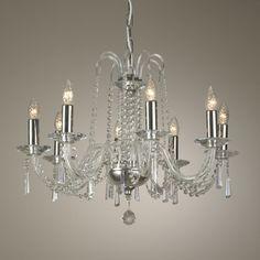 Kanskje ikke denne til 15000 kr, men den billige kopien. Den, Chandelier, Ceiling Lights, Home Decor, Homemade Home Decor, Candelabra, Ceiling Light Fixtures, Ceiling Lamp, Outdoor Ceiling Lights
