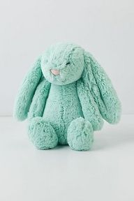 turquoise bunny.. I would definitely get this for my future child