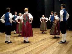 Geestländer Quadrille - Deutsche Volkstanzgruppe Tanz mit uns - YouTube