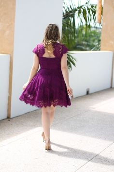 A bright and flirty dress on this week's Chic