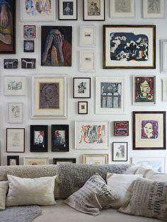 full gallery wall