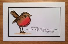 Wendy's Card Craft  Dina Wakley Scribbly Birds
