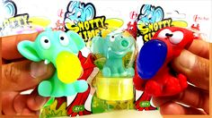 Snotty Clay Slime with The Pig The Elephant and The Octopus Toys For Kids
