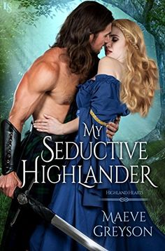 My Seductive Highlander-A Highland Hearts Novel-Maeve Greyson-Romance, drama, suspense, all of the things we love about people and clans in historical Scotland. Graham is such a hot, take charge, and fun character that meets his match in Lilia. She is one kick-a** woman that knows her own mind. The H & h going back in time to visit family at a time of mourning and healing while fighting a neighboring clan.5 Stars!