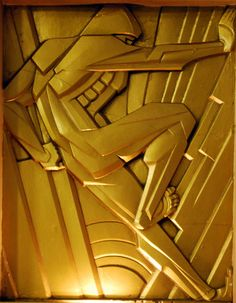 Art Deco Wall Feature, Chanin Building, Rene Paul Chambellan, New York, NY | #ArtDeco