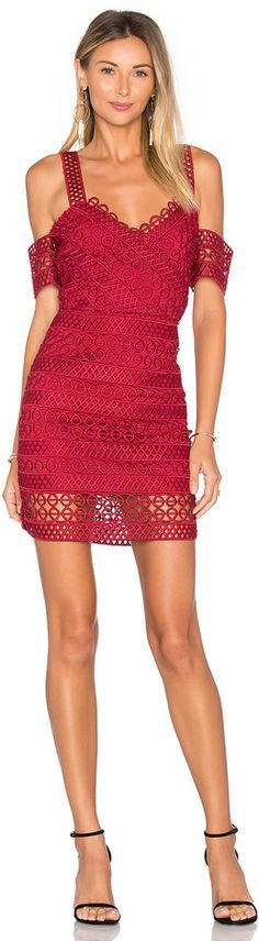 @roressclothes clothing ideas #women fashion red little dress