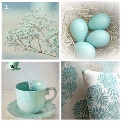 Duck egg blue - love this shade of blue