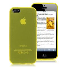 Black Friday Discount: Transparent TPU Case Yellow for iPhone 5 5S Case #apple #iphone5 #covercase #iphonecase #iphone #blackfriday #discount $5.49