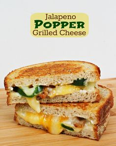 Jalepeno Popper Grill Cheese