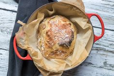 No Knead Bread: schnelles Brot ohne Kneten - Rezept-Varianten No Knead Bread, Some Recipe, Camembert Cheese, French Toast, Cooking, Breakfast, Recipes, Food, Recipe