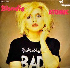 Album Front cover Photo of BLONDIE Atomic 7 Cheech Und Chong, Stockholm, Blondie Atomic, Blondie Albums, Best Of Blondie, Chris Stein, Vinyl Poster, Pochette Album, Fotografia