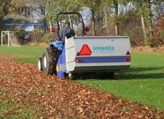 The Imants RotoSweep offers efficient removal of surface debris from sports turf, including cores, grass clippings, leaves and general litter collection.