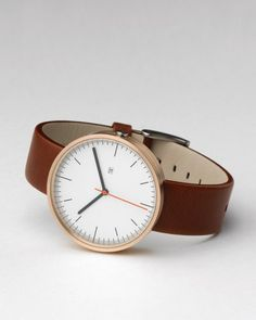 200 Series PVD Rose watch by Uniform Wares